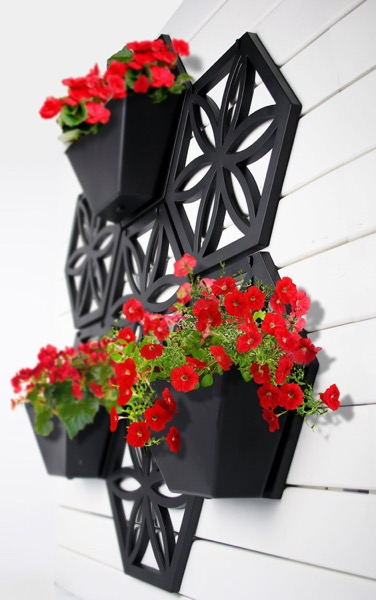 Hex Wall Planter