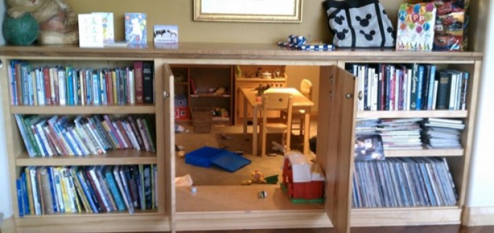 Bookcase Play Space