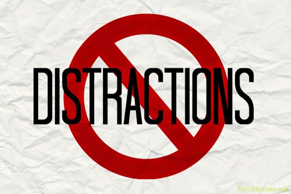 Minimize Distractions