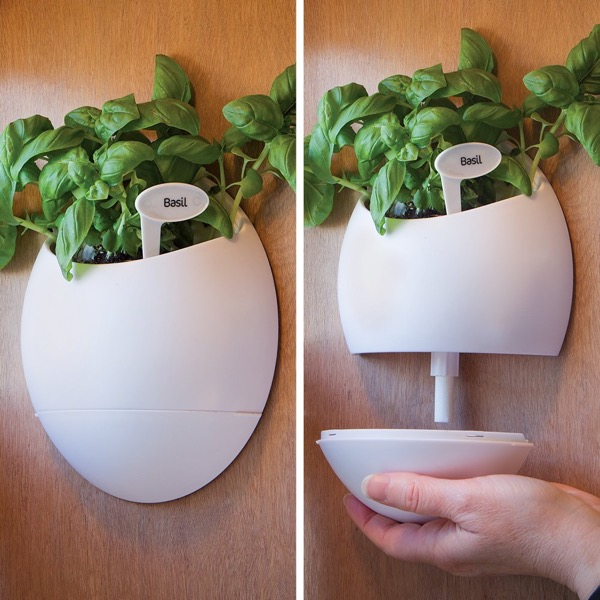 Self Watering Wall Planter Urn
